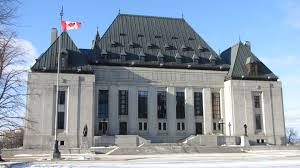 The Supreme Court of Canada Courthouse.